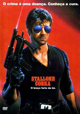 STALLONE COBRA | Filmes anos 80, Capas de filmes, Filmes