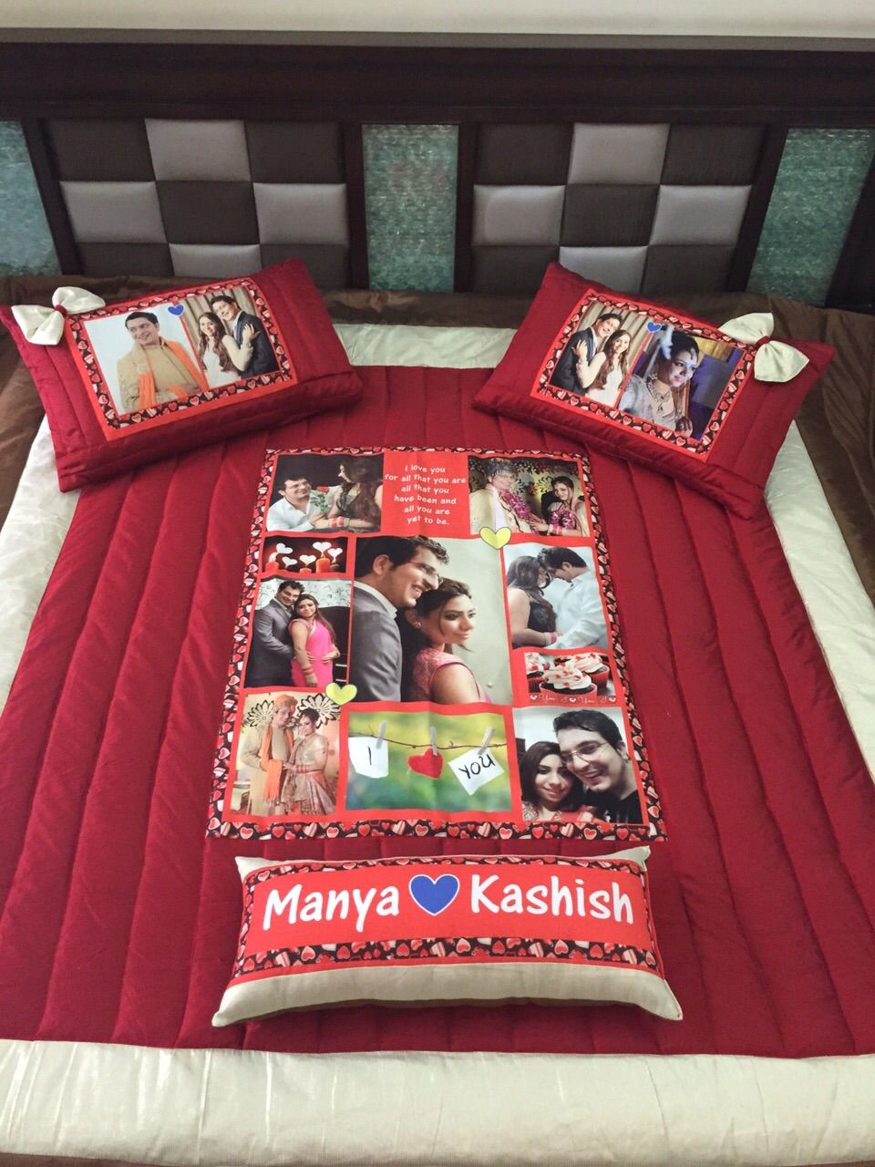 Bon Customized Photo Printed Bed Sheets, Bed Covers And Quilts Delhi. We Are  The Pioneers