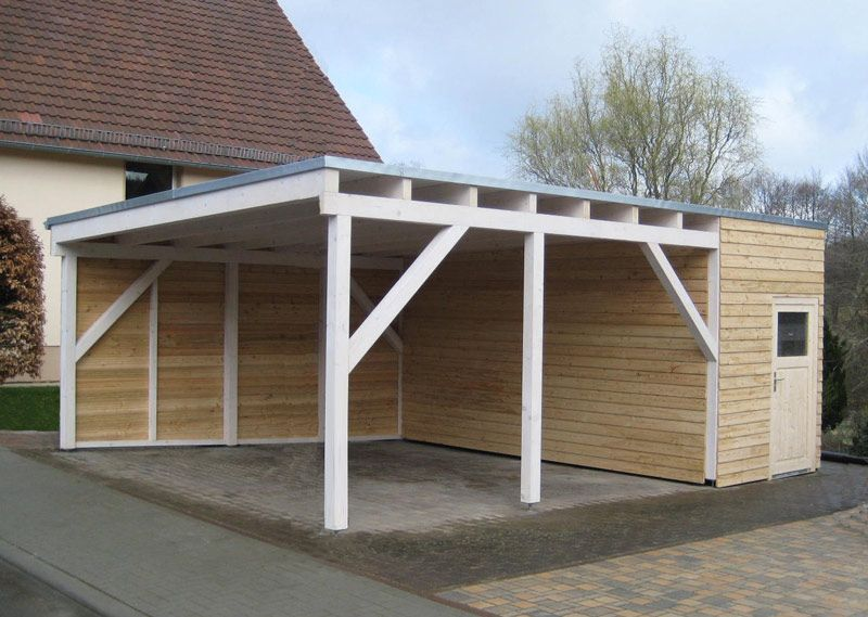 euro carport doppelcarport inkl haus yes i love my garden. Black Bedroom Furniture Sets. Home Design Ideas
