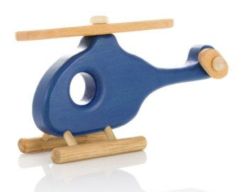 Personalized Wooden Helicopter eco-friendly kids by FriendlyToys