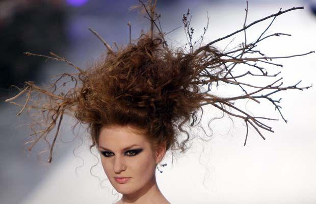 Weird and Strange Hairstyles: Oh My!!! | Hair styles, Bird nest hair, Hair  humor