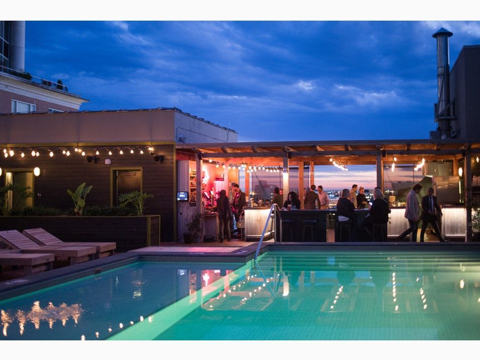 For a poolside party alto rooftop bar ace hotel
