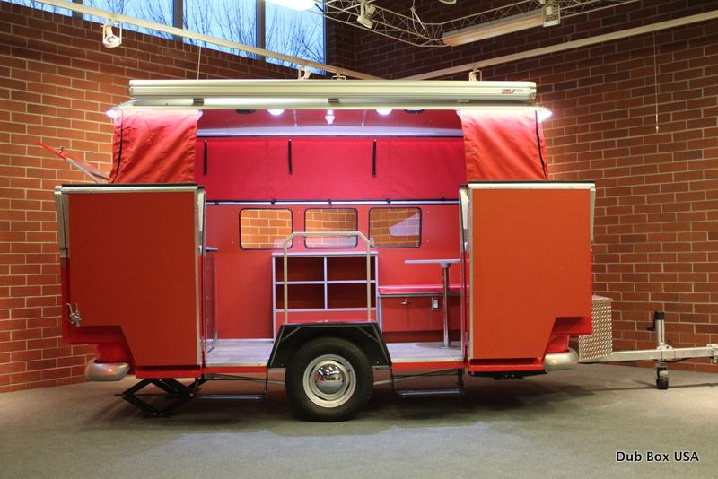Dub box USA is a new twist on the tailgate camper, family camper, food cart or…