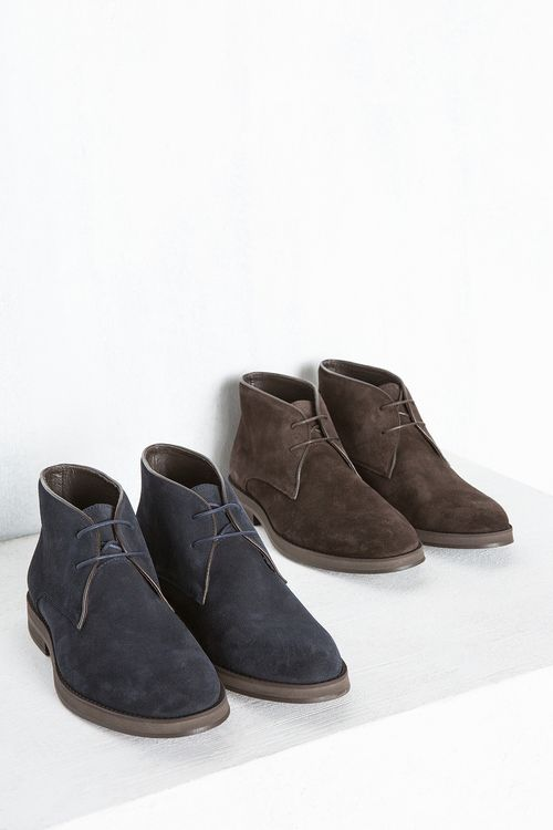 Bota De Serraje Zapatos Hombre Cortefiel En 2019