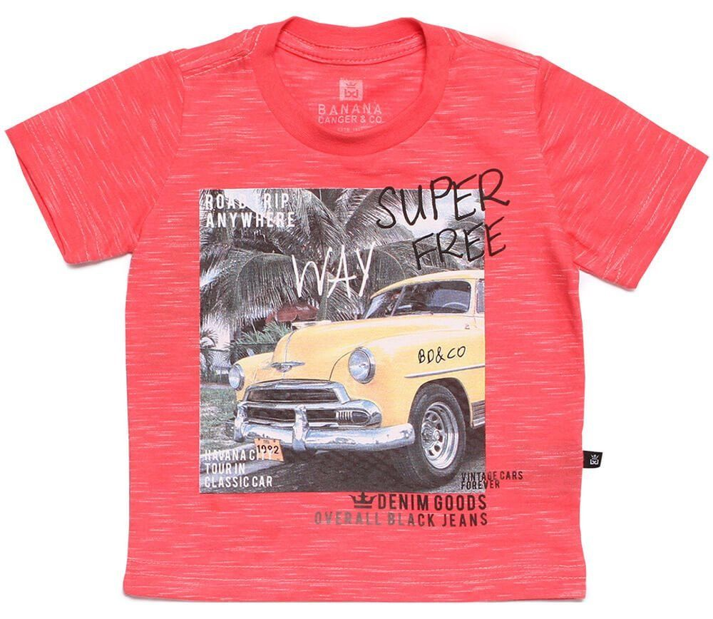 0c14f094ac Camiseta infantil masculina Havana Free Way - Banana Danger