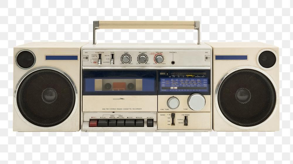 Old Radio Cassette Design Element Free Image By Rawpixel Com Teddy Rawpixel Old Radios Radio Cassette Radio