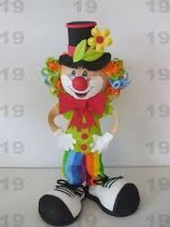 Resultado de imagen para payasito de carnaval en foami ...