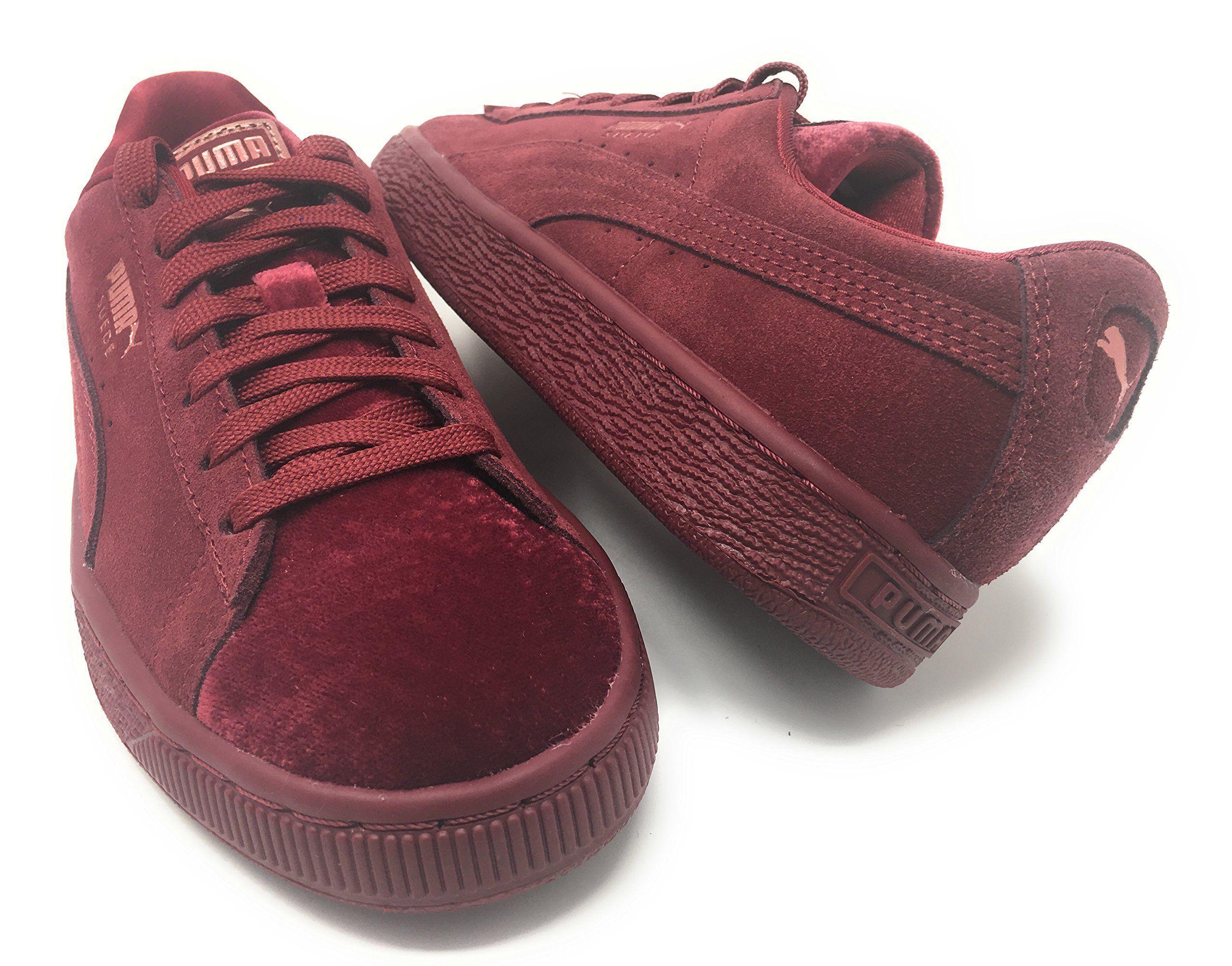 timeless design a3c1f 5a8fb PUMA Suede Classic Velvet Women | Red (36620901) | Shoes