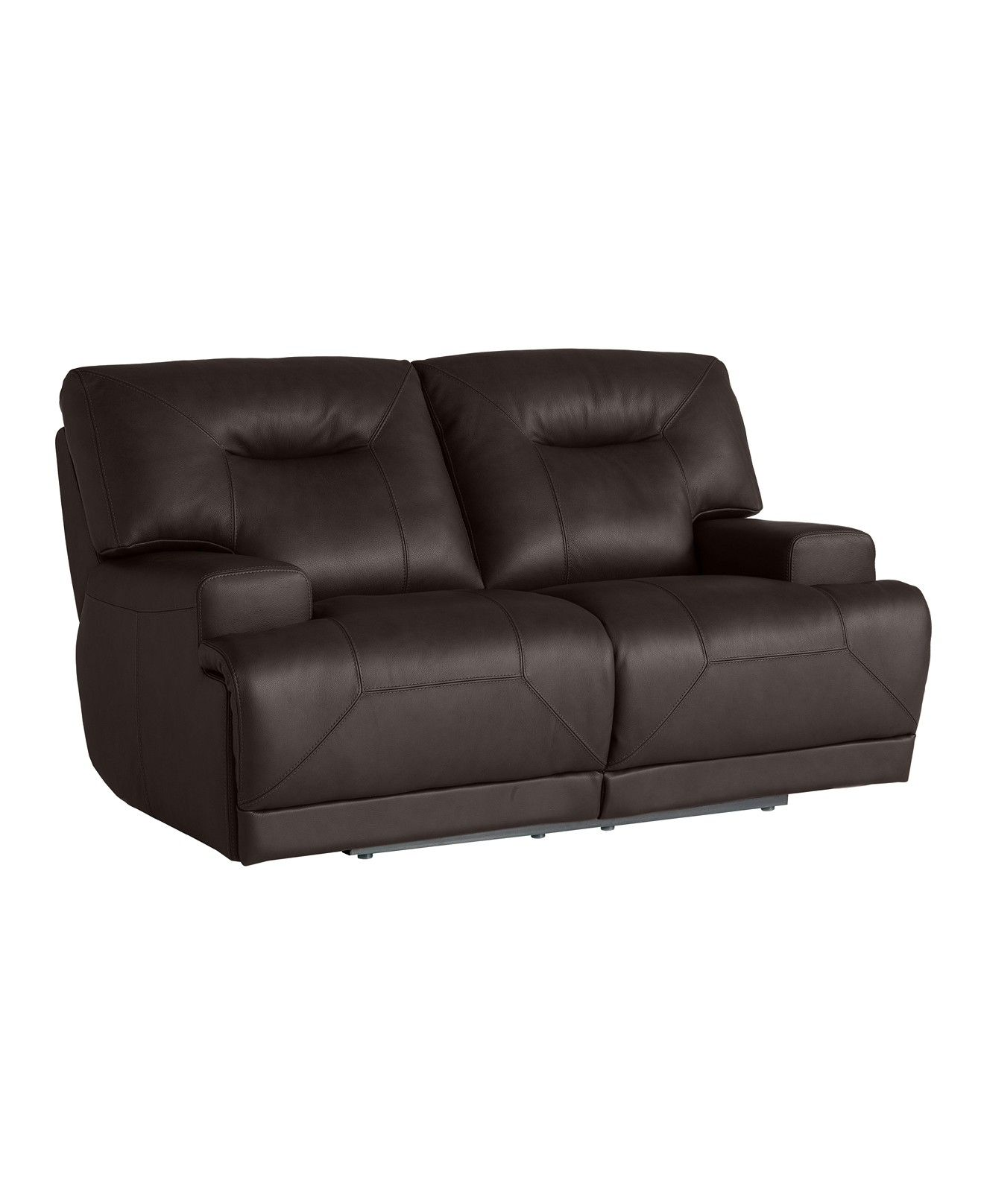 Ricardo Leather Power Reclining Loveseat Furniture Macy s