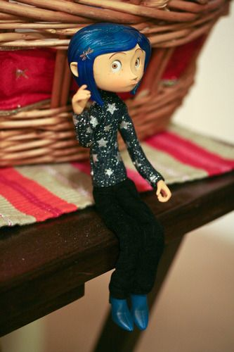 Customer Image Gallery For Coraline In Star Spangled Sweater Neca Comicon 200 Coraline Ilustracoes Filmes