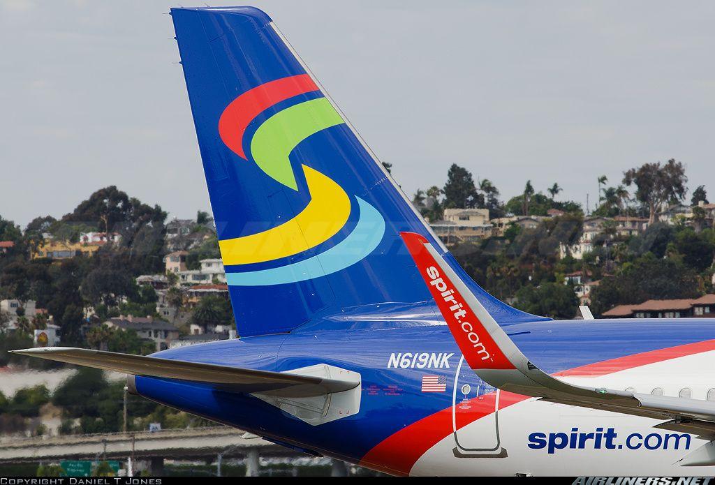 Spirit Airlines Airbus A320232 SAN (met afbeeldingen