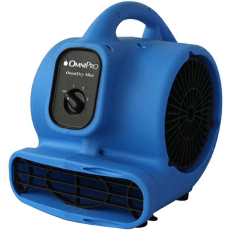 OmniDry Mini Air Mover and Carpet Dryer
