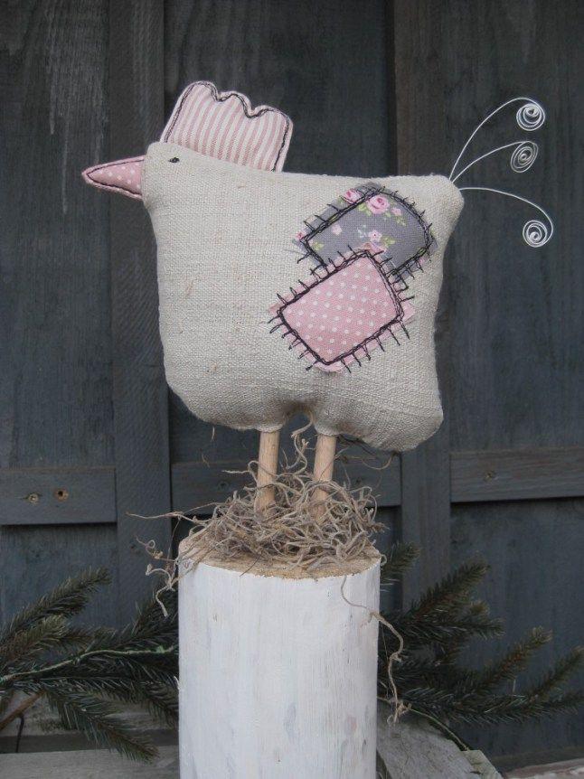 huhn leinen klein 1 decoration pinterest leinen h hner und ostern. Black Bedroom Furniture Sets. Home Design Ideas