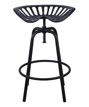 Black Tractor Chair Stool. Tractor Seat StoolGarden ...