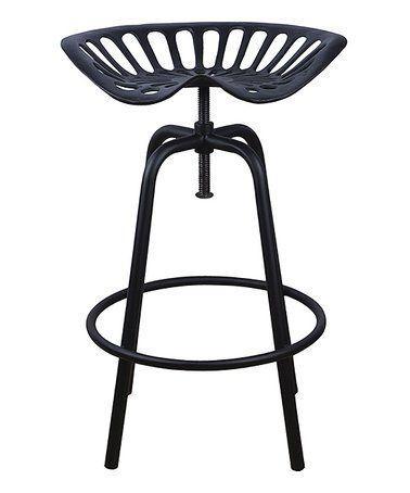 Black Tractor Chair Stool. Tractor Seat StoolGarden ...