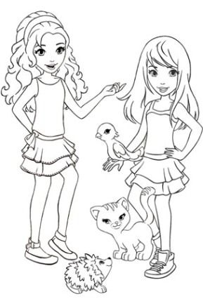 Lego Friends Coloring Pages : friends, coloring, pages, Friends, Coloring, Pages, Printable, Căutare, Google, Pages,, Coloring,, Birthday