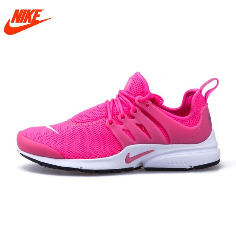Original Nouvelle Arrivée Authentique Nike Maille Surface de Femmes Air  Presto Respirant Chaussures de Course Sneakers