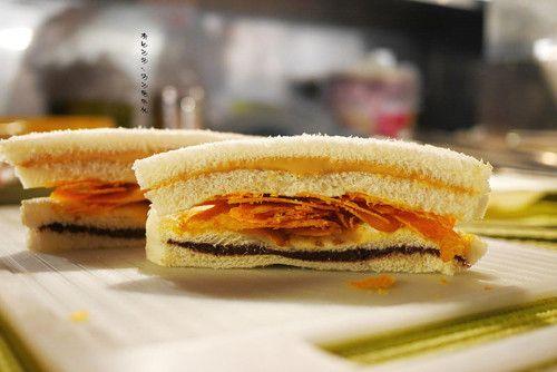 爆漿口袋吐司與創意三明治