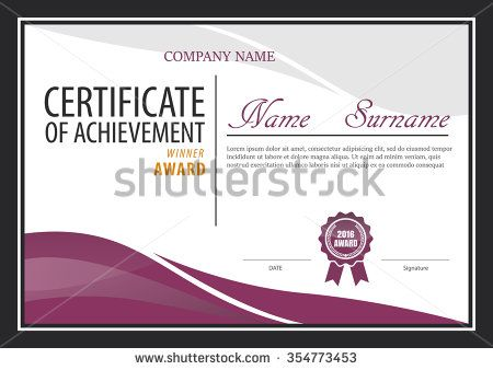 Certificate templatediploma layouta4 size vector cosas que certificate templatediploma layouta4 size vector yelopaper Images