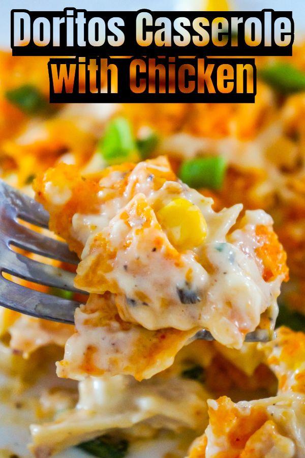 Doritos Casserole with Chicken