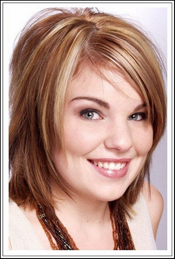short hairstyles for round faces double chin short haircuts for