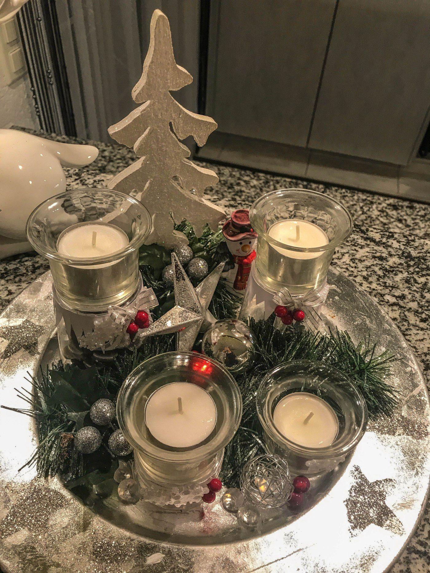 Schön DIY Adventskranz #kerzen#advent#weihnachten#christmas#candles#basteln#craft