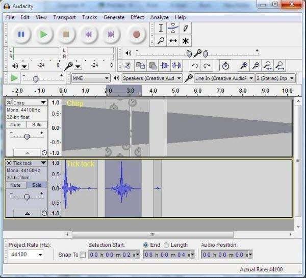 Best representation descriptions Audacity Free Audio