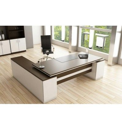 Buy Executive Desks In Dubai Simple Elegant Design Manager Director Desk Side Drawers And Cab Office Table Design Office Furniture Modern Office Desk Designs