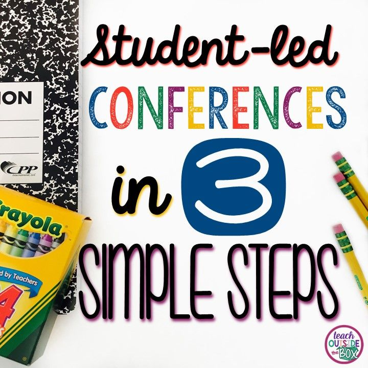 Student Led Conferences In 3 Simple Steps Student Led Conferences Student Led Student Conference
