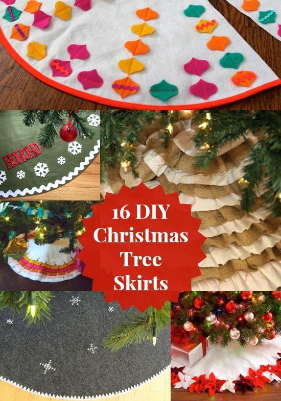 A Diy Tree Skirt Makes Memorable Christmas Decor Diy Christmas Tree Skirt Christmas Tree Skirt Christmas