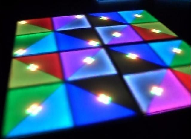 2015 Led Rgb Panel Dancing Dance Floor Voice Control Stage