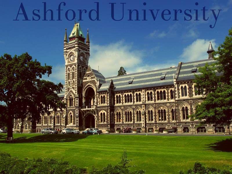 Ashford University Ashford University Education