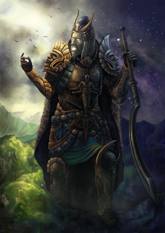 Iapetus (Greek God of Mortality. Titan) | Mythology ...Iapetus Titan