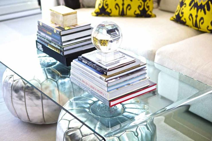 Suzie Sam Allen Interiors CB Peekaboo Clear Coffee Table Silver - Cb2 peekaboo coffee table