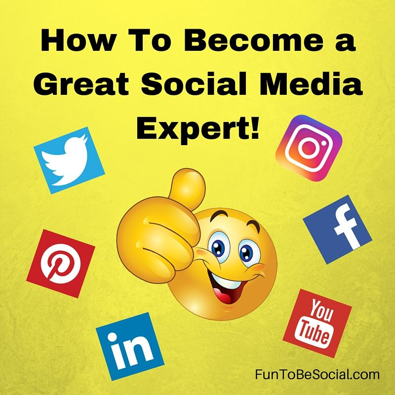 Want to become a social media expert? That is great it's a fun career to get into. Here are some tips and advice on how you can achieve becoming a social media expert. #business #marketing #socialmediaexpert