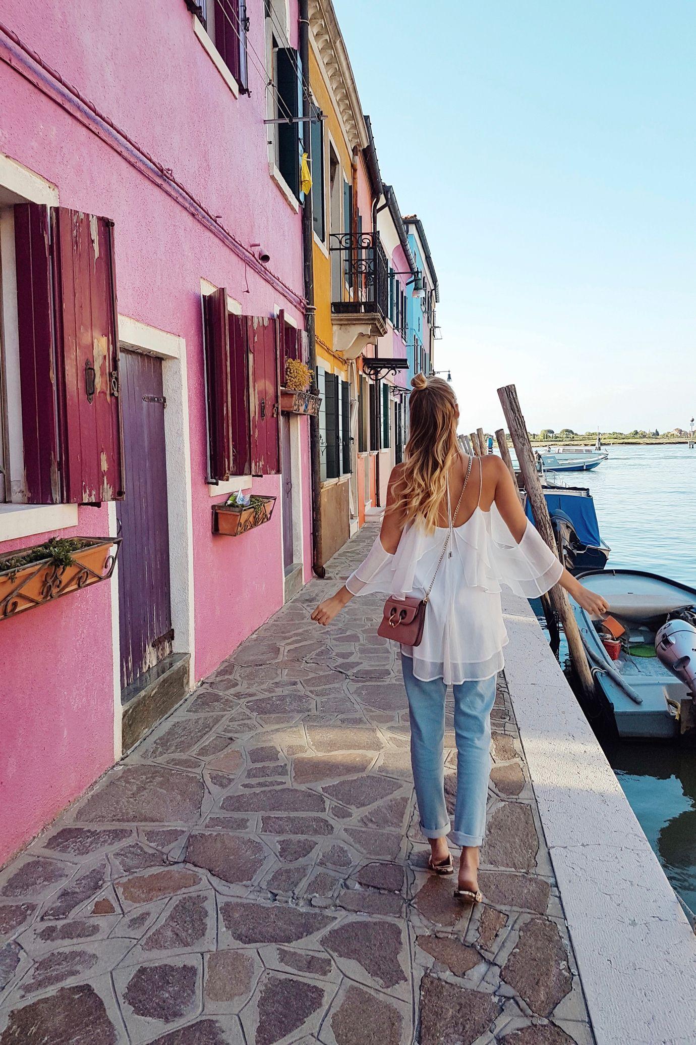 Photo of Leonie jeans & Colors | Venice, Italy – leonie hanne – haute couture