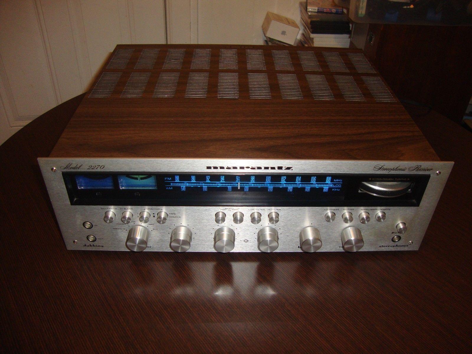 Vintage Marantz Model 2270 FM/AM Stereophonic Receiver   eBay