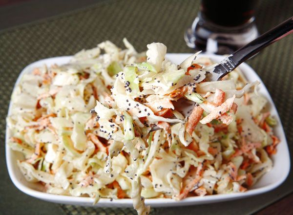 Stephanie M. won with this pin! Hiland Dairy | Recipes | Side Dishes | Buttermilk Coleslaw   #HilandDairy