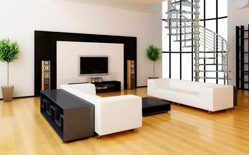 Decoración de interiores en salones minimalistas - El blog de ...