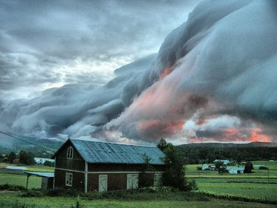dearscience:  Clouds over Sweden