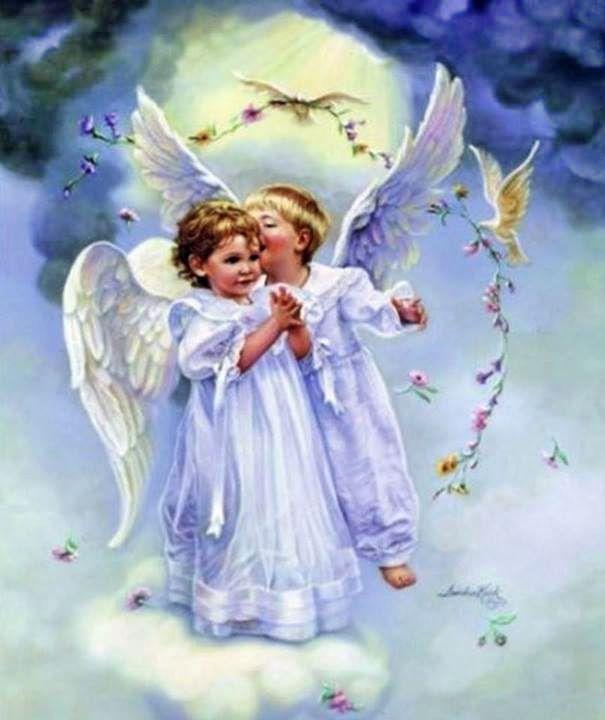 Открытка для ангела хранителя