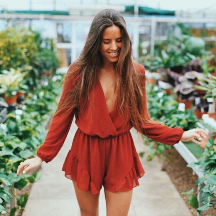 a21baccaad9b burnt orange romper