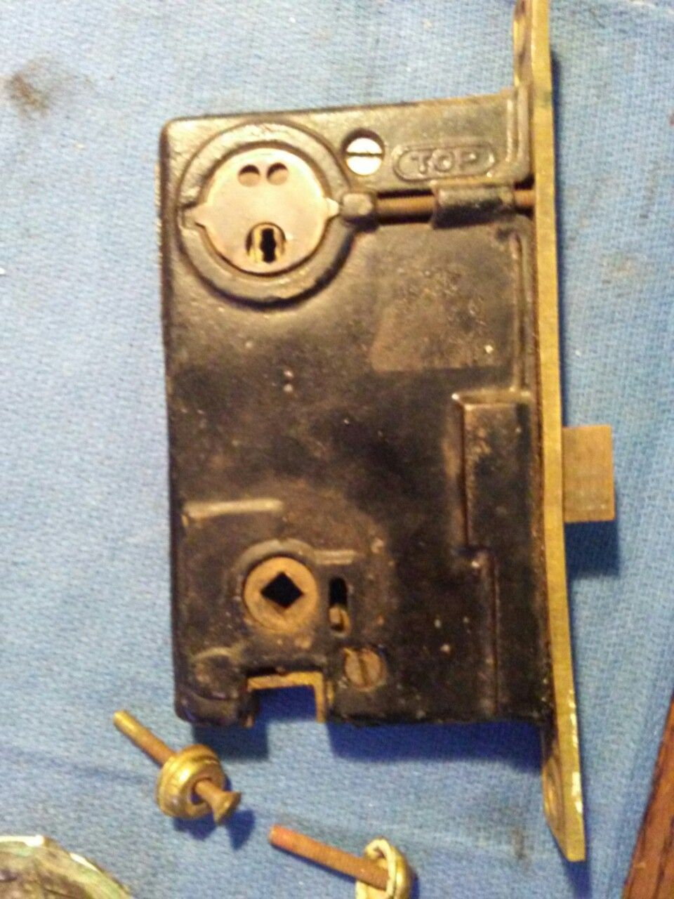 Penn mortise lock        Ordered on line at ebay    all lady