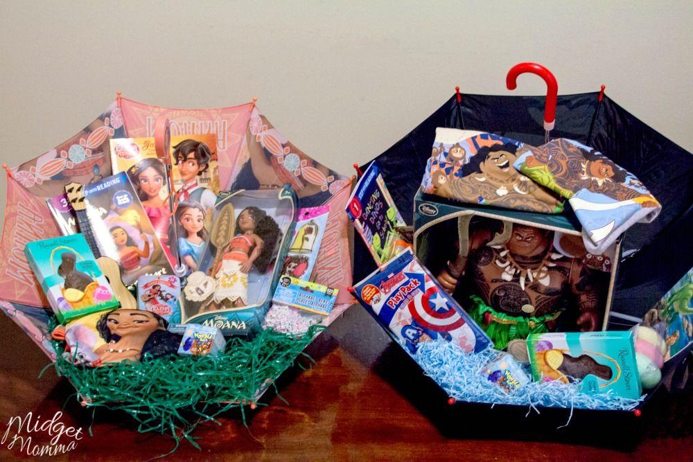 Umbrella Easter Basket Easter Basket Ideas For Kids Easter Basket Themes Umbrella Easter Baskets Easter Baskets