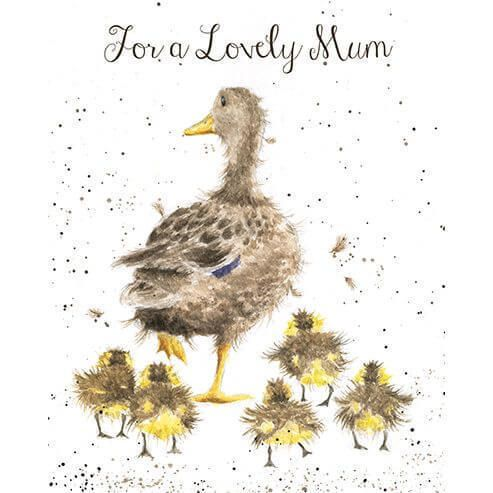 Details about For a Lovely Mum Greeting Card - Wre