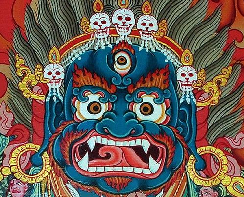 Mahakala | MARA DEMONS BUDDHA in 2019 | Tibet art, Vajrayana