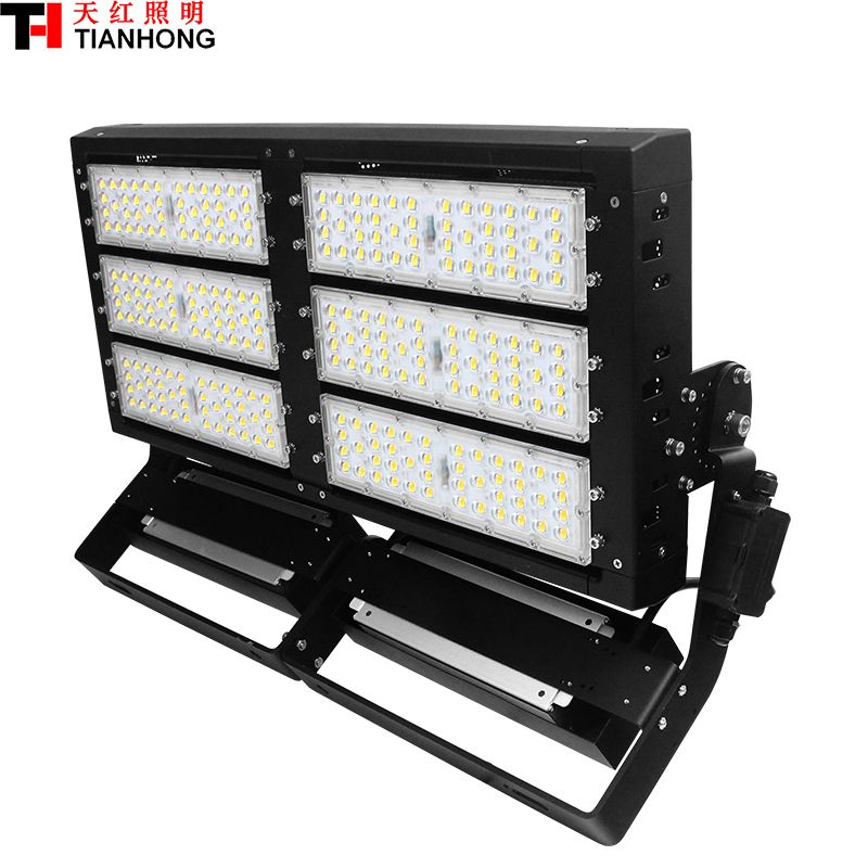 600w Led High Mast Lamp Led Stadium Lighting Led Flood Light Ac85 265v Led High Pole Lamp 600w With 85000lm Stadium Lighting Flood Lights Led Spotlight