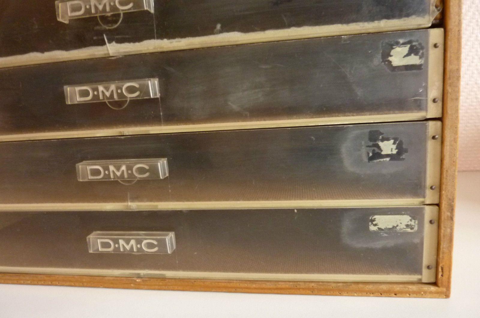 d.m.c boîte de rangement de fils 6 tiroirs.   loisirs créatifs