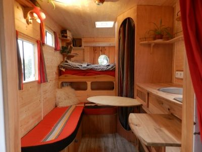 www fabrique atypique com vous am nag un camion en camping car camping pinterest. Black Bedroom Furniture Sets. Home Design Ideas