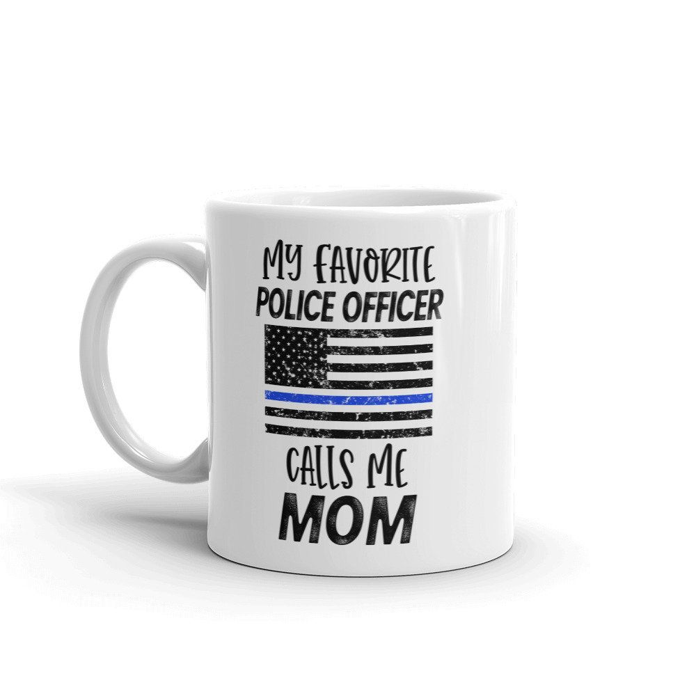 Coffee Scoop Police Gift Thin Blue Line Police Coffee Gift Law Enforcement Gift